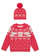 Christmas Hat and Jumper Set
